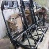 Изготовление пола и механизма наклона спинки дивана для Ford Transit Tourneo 8