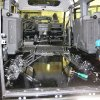 Шумоизоляция и установка жидкостоного отопителя Eberspacher Hidronic D5 на Land Rover Defender 8