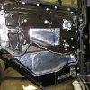 Шумоизоляция и установка жидкостоного отопителя Eberspacher Hidronic D5 на Land Rover Defender 43