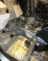 Термо-шумо-виброизоляция салона и колесных арок Mazda CX-5 47