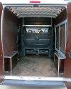 Перетяжка салона и изготовление столика в Peugeot Boxer 2