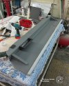 Перетяжка салона и изготовление столика в Peugeot Boxer 7