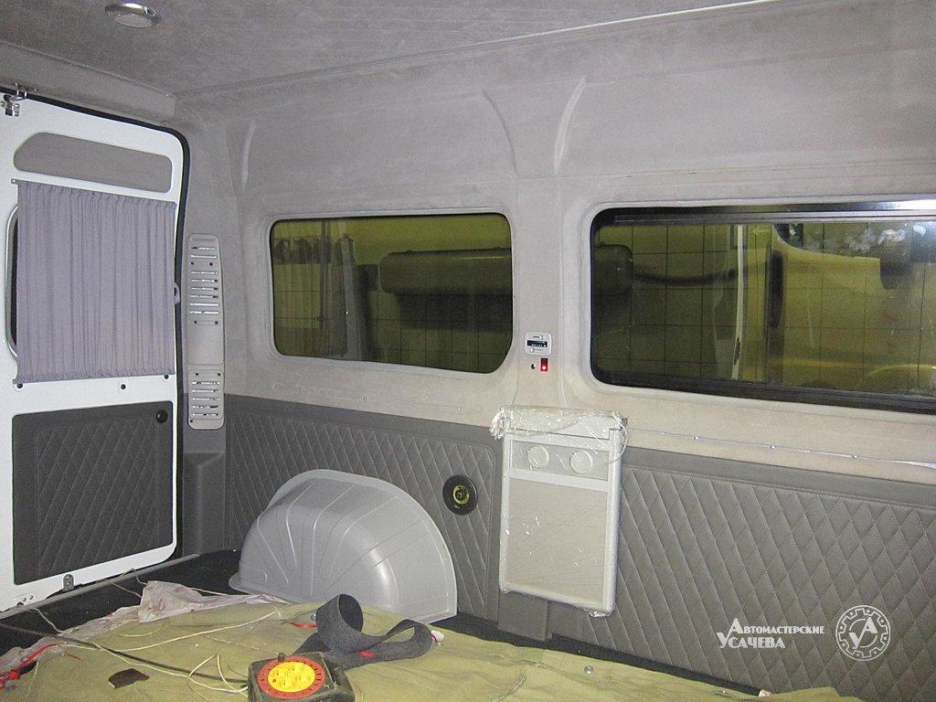 Тюнинг микроавтобуса своими руками с фото 52
