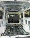 Перетяжка салона и изготовление перегородки с мультимедийным подиумом в Peugeot Boxer 9