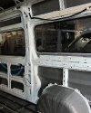 Перетяжка салона и изготовление перегородки с мультимедийным подиумом в Peugeot Boxer 11