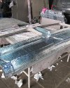 Перетяжка салона и изготовление перегородки с мультимедийным подиумом в Peugeot Boxer 18