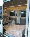 Перетяжка салона и изготовление перегородки с мультимедийным подиумом в Peugeot Boxer 31