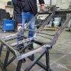 Переоборудование автомобиля LDV Maxus в грузопассажирский 32
