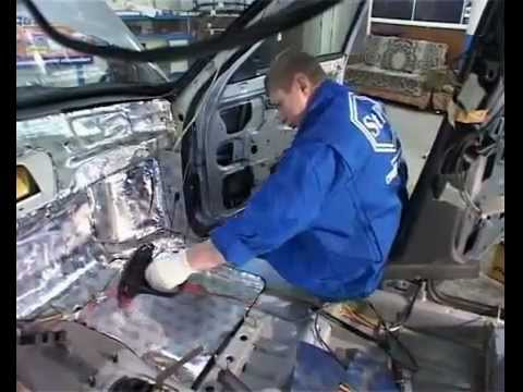 Звукоизоляция автомобиля видео