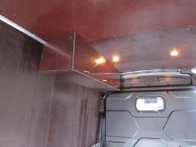 Процесс обшивки фургона фанерой