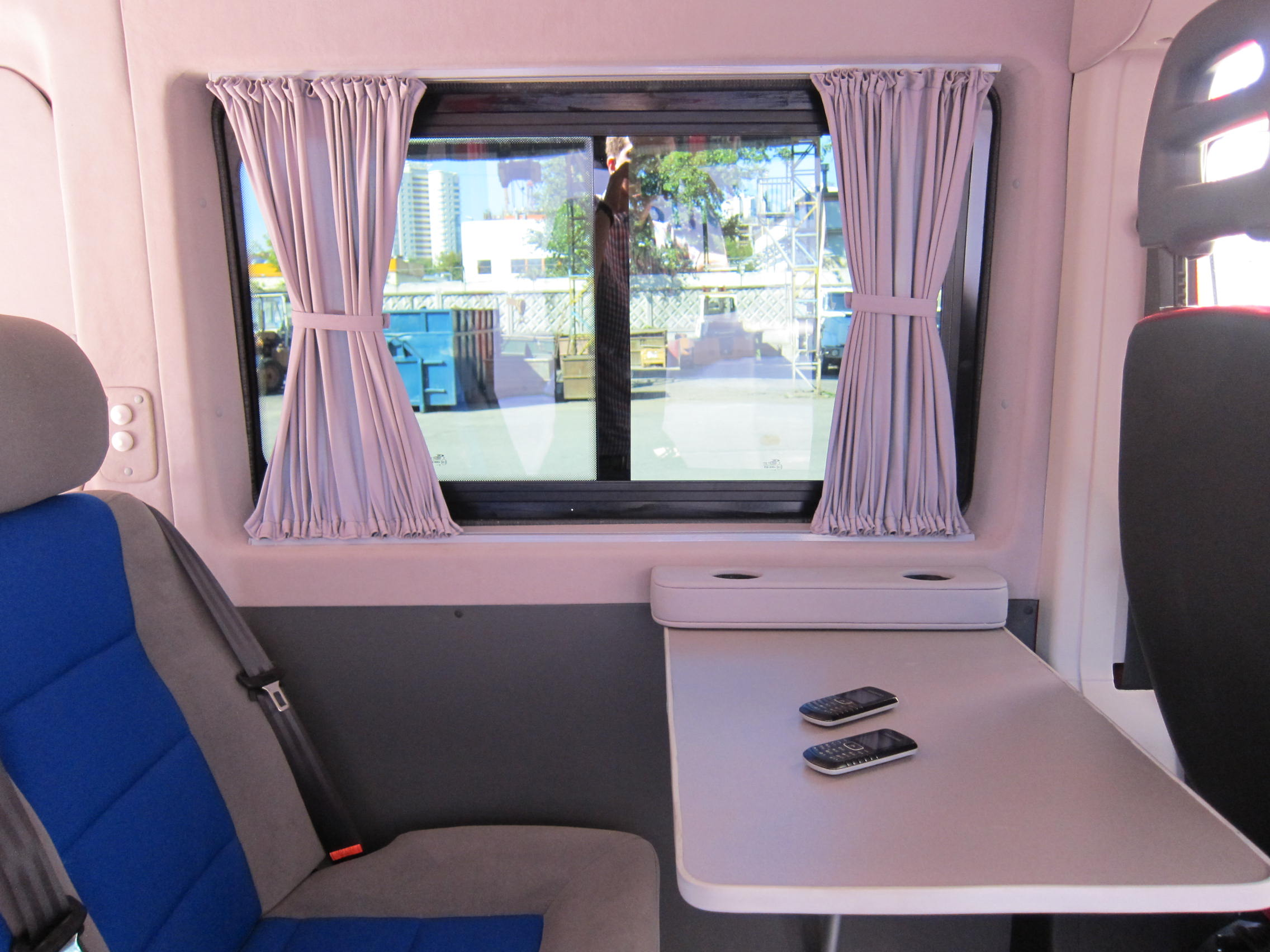 Обшивка микроавтобуса своими руками