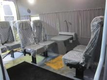 Сидения в салоне микроавтобуса